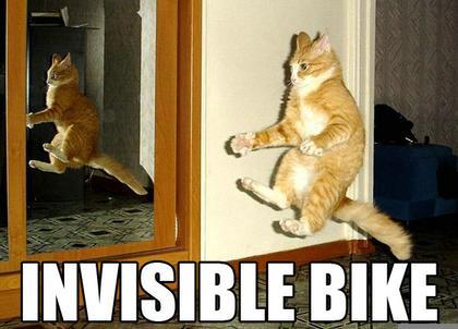 самые лучшие фото приколы невидимый байк