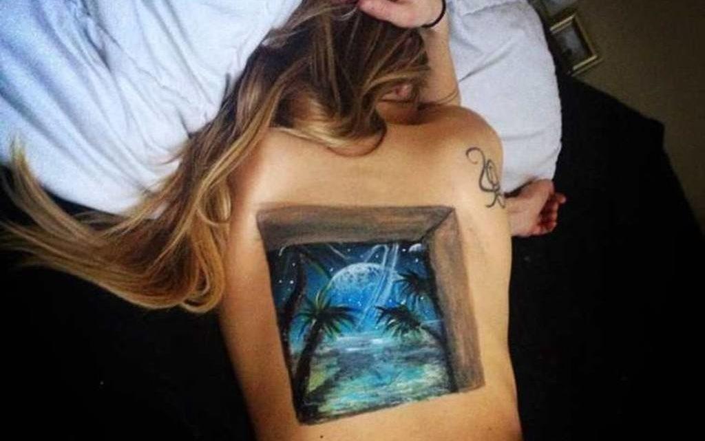 Самые реалистичные 3D татуировки на теле (44 фото)