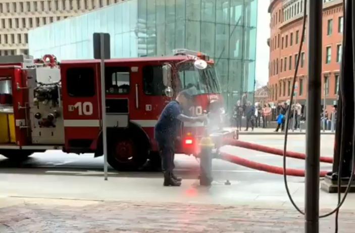 Короткие видео приколы про пожарных