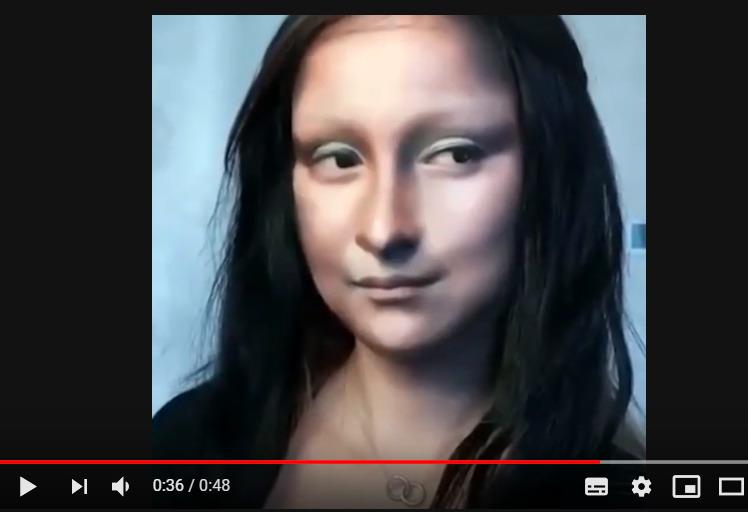 Короткий видео ролик, перевоплощения