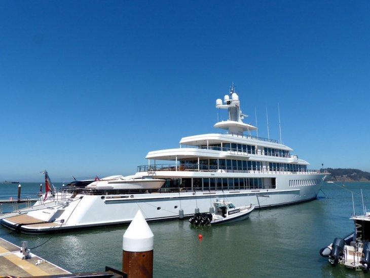 Самые дорогие яхты миллиардеров, Канского фестиваля