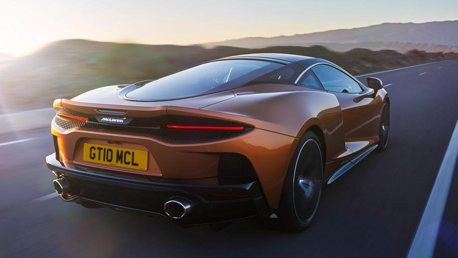 Суперкар McLaren GT явился самым комфортным Маклареном