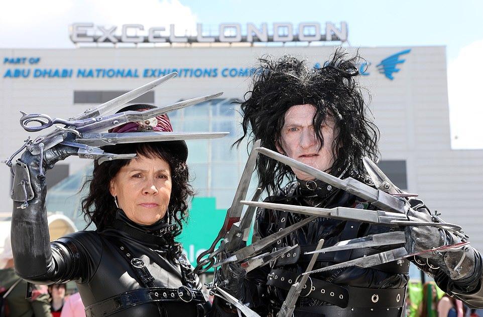 Поклонники косплея собрались в Лондоне на Comic Con 2019 (43 фото)