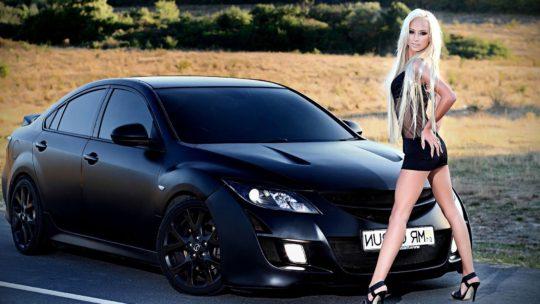 Лучшие обои красивых девушек с авто (28 фото)
