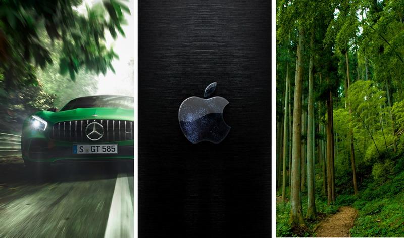Природа, автомобили, фото, на телефон (34 обоев)