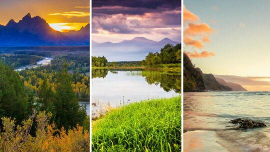 Обои на телефон — пейзажи и моря 1080×1920