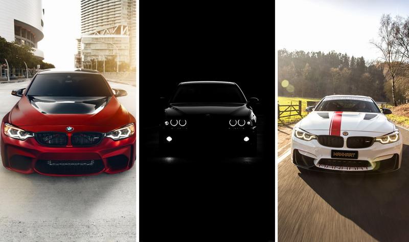 Заставки на телефон — автомобили BMW 1080×1920
