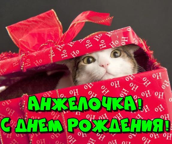 С днем рождения Анжелика — картинки и открытки