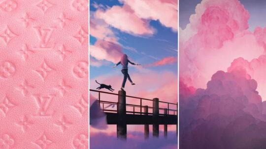 Розовые обои на телефон 1080×1920