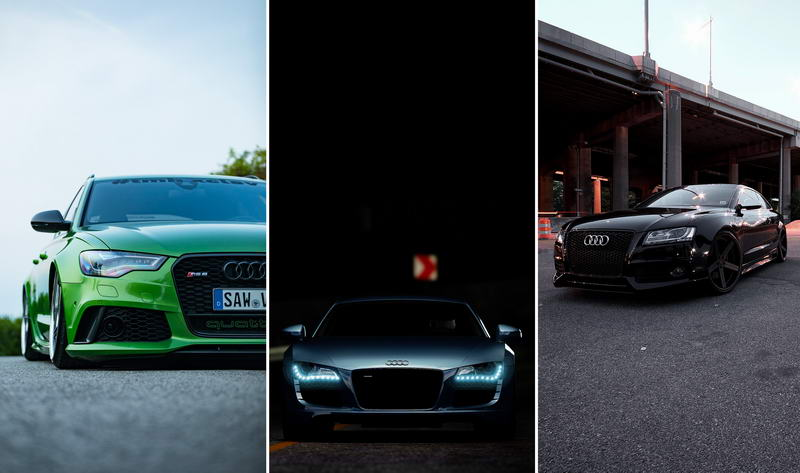 Обои на телефон — автомобили Audi