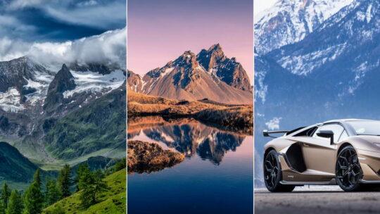 Горы — обои на телефон