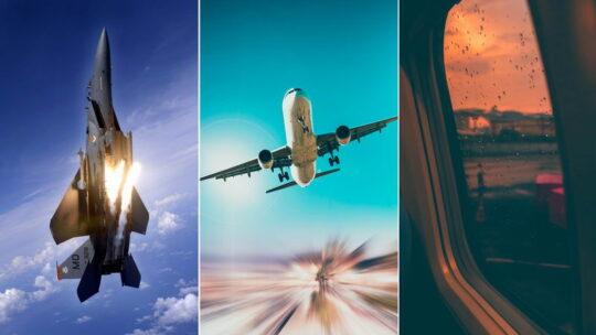 Обои на телефон — самолет